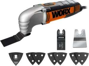 Worx Sonicrafter Multi Tool £39.99 (Qd 3%) @ Homebase (Free collection in store) - check link in comments #5 for multi-tool blades & accessories.