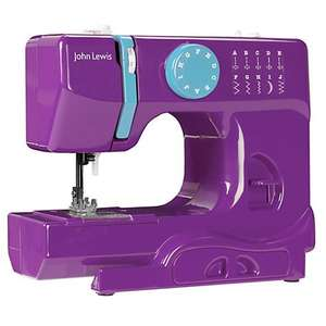 john lewis mini sewing machine reduced from £49 to £35