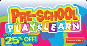 Pre-School Play & Learn sale @ TheToyShop.com / The Entertainer **See OP for list**