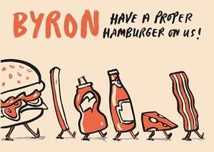 Free Hamburger at Byron Burger York