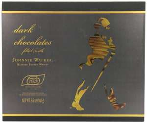 Turin Chocolates Johnnie Walker Gift Box 160 g @ amazon warehouse £2.41 add on item