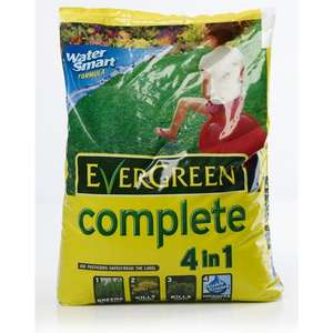 Evergreen Complete 4 in 1 Lawn Feed Weed & Moss Killer 7kg / 100m2 for £10 @ Wilko