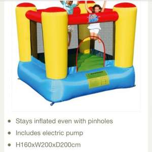 Airflow bouncy castle £69.98 @ Tesco Direct