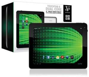 "NEW VERSUS TOUCHTAB 8"" DUAL CORE 16GB TABLET ANDROID 4.1 BLUETOOTH £59.99 @ Studentcomputers"