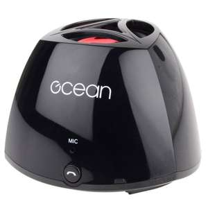 Ocean Mini Bluetooth Travel Speaker £4.99 + £3.00 delivery  (£7.99 delivered ) at AMAZON sold by No1Brands4You.