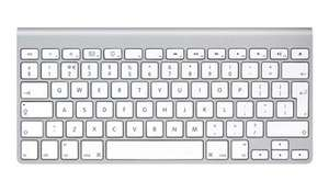 Apple Bluetooth Wireless UK Keyboard MC184B/A (Non Retail Box) £38.40 with Free Delivery at Jigsaw24