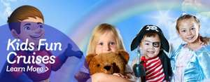 Kids Fun Cruises @ Stena Line £15pp (Family of Four offer £45) - Weekends and Summer Holidays - What's included: Travel, Entertainment, Magic, face painting, balloon art etc Meal (on some) from Belfast