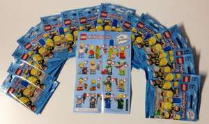 Lego Simpsons mini figures £2.49 buy 2 get 1 free (£1.66 each) @ WH Smith Cheshire Oaks