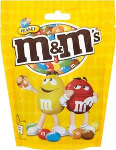 M&M's Peanut/Crispy/Chocolate (141G-165G) £1.00 @ Asda