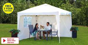 3 x 3 x 2.6m Pop-Up Gazebo with 3 years warranty at Aldi from 8th May