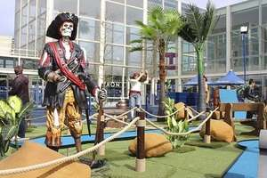 Pirate Adventure Golf - Milton Keynes Shopping Centre £10 for a family - Groupon