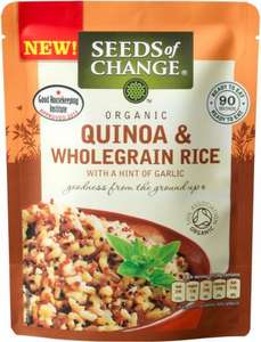Seeds of Change (Organic) Quinoa & Wholegrain Rice (240g) was £2.29 now £1.50 @ Waitrose