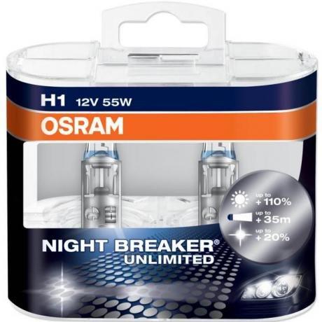OSRAM H7 Nightbreaker Unlimited @ Eurocarparts - £12.24