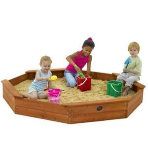 Plum Giant Octagonal Outdoor Play Wooden Sand Pit  £49.62 @ Amazon