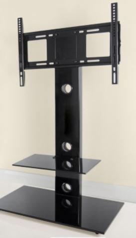 Black Glass AVF Group  TV Stand £60 @ B&M