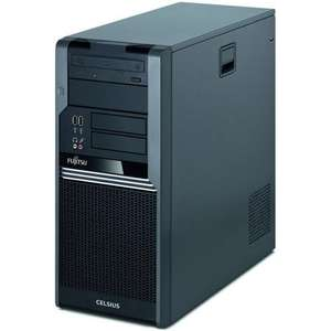 Fujitsu Celsius W380 Xeon Quad Workstation Win7 Pro Refurbished PC - £293.94 @ Aria PC