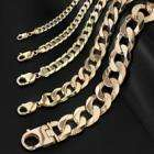 24 inch 9ct. Gold Solid Curb Chain 38.8grams  £191.20 as cheap as scrap gold