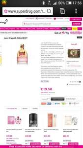 Just Cavalli for Her 50ml ONLINE ONLY £19.50 at Superdrug