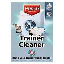 Spotless Punch Trainer Cleaner - washes 2 pairs per pack 50p @ Wilkinsons