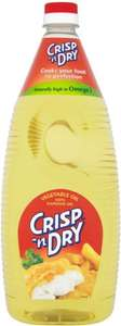 Crisp 'N Dry Vegetable Oil 2L £2.00 (£1.00/Litre) @ Asda