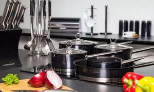 groupon deal, 21 piece morphy richards kitchen bunble, lots of kitchen gear