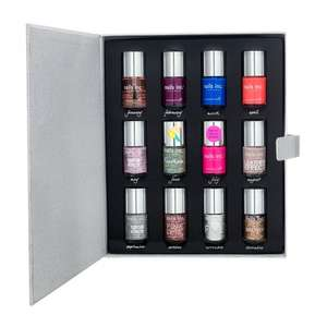 Nails inc Nail Polish Diary + FREE nails inc Richmond Terrace Full-Sized Nail Polish Colour £32 Delivered @ Feel Unique + 9% Quidco