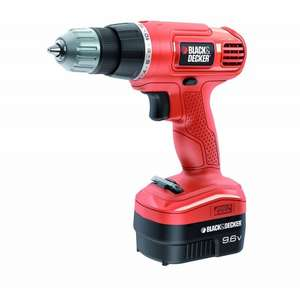 Black & Decker EPC96CA 9.6v Cordless Drill £13.32 delivered @ Amazon