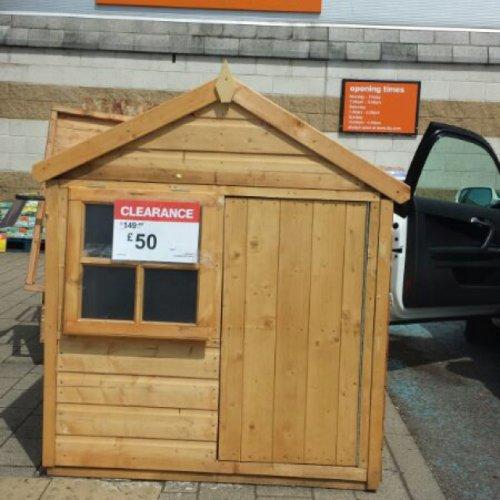 Wendy house b&q Ipswich £50