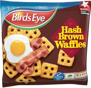 Birds Eye Hash Brown Waffles (459G) & McCains Smiles (454G) £1.00 @ Asda