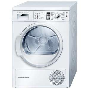 Bosch WTW863S1GB Sensor Condenser Tumble Dryer, 7kg Load, A++ Energy Rating, White at JOHN LEWIS FOR £529.00