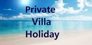 Private Villa Holidays - Various Options and Departure Airports including Flights & Luggage -  Villas with own Pool, BBQ etc (Various choices) eg: Costa Del Sol for 1 Week £113.50pp) @ Cosmos Villa Holidays