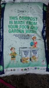 Free bags of 50L Compost made from your garden waste