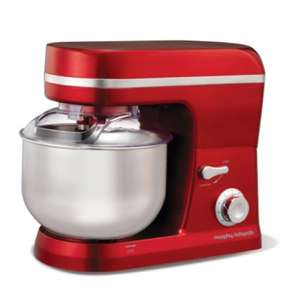 Morphy Richards Red Kitchen Machine less than half price was  £199 now £48 at Amazon