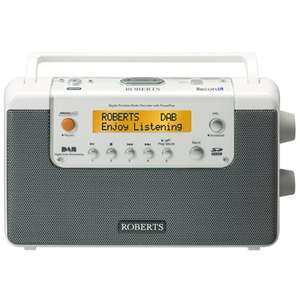 ROBERTS DAB/FM Radio/recorder £49.99 + £10 delivery @ electrical123.com