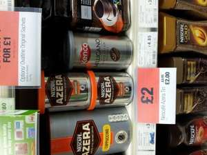 Nescafe Azera coffee at the Coop - £2 instore