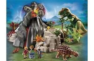 Playmobil 5230 Volcano with Tyrannosaurus £30.94 Delivered @ Argos Ebay