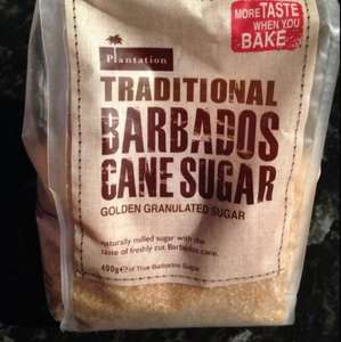 Plantation traditional Barbados cane sugar 59p 400g pack @ Home Bargains
