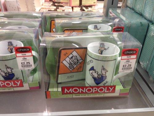 Monopoly tea gift set £2.25 @ choice