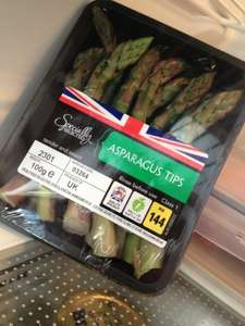 British Asparagus only 79p (150g) and Asparagus Tips £1.19 @ Aldi