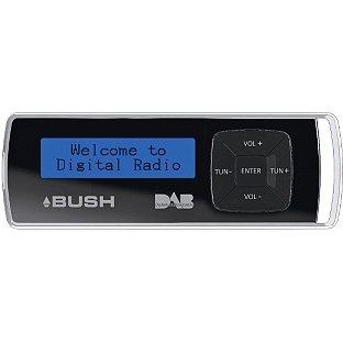 Bush Pocket DAB/FM Radio - Black - Argos - £18.74