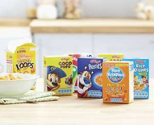 Kellogg's Variety Pack Cereals 8 Pack 99p @ ALDI