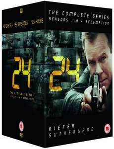24 - Complete Season 1-8 + Redemption (New Packaging) DVD £30 @ Amazon (Ends at midnight)