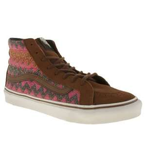 Womens Vans Sk8-hi Slim Trainers - SIZE 3 ONLY - Was £60 now £14.99 with free delivery at Schuh