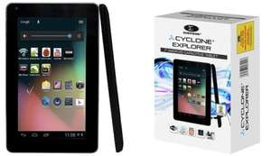 "Cyclone Explorer 7"" Android Tablet - Hush Hush - £36.98 del"