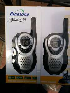 Binatone Latitude 150 two-way radio £20 @ Asda instore