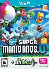 New Super Mario Bros + Super Luigi (Pre-Owned) Wii U £26.99 @ Grainger Games