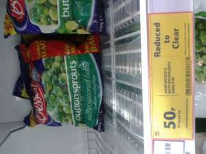 Aunt Bessies 900g bag of Button Sprouts 50p @ Tesco