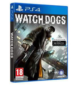 Watch Dogs PS4 £41.00 with code @ tesco (for new customers/new email only)
