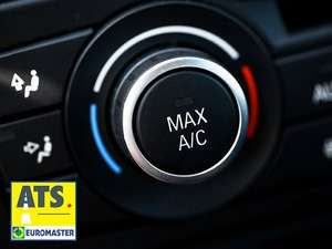 Car Air Conditioning Recharge & Anti-Bacterial Clean - 40% off - £33 @ ATS Euromaster with Amazon local