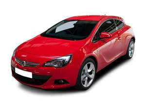Vauxhall Astra GTC 2.0 Diesel Sport £201.60 Inc vat per month 2yr lease @ vehiclesavers
